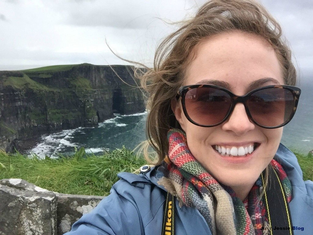 Cliffs of Moher Selfie