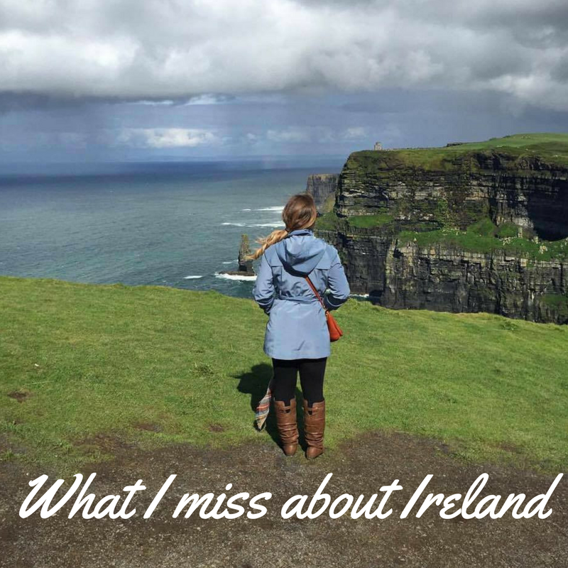 What I miss about Ireland