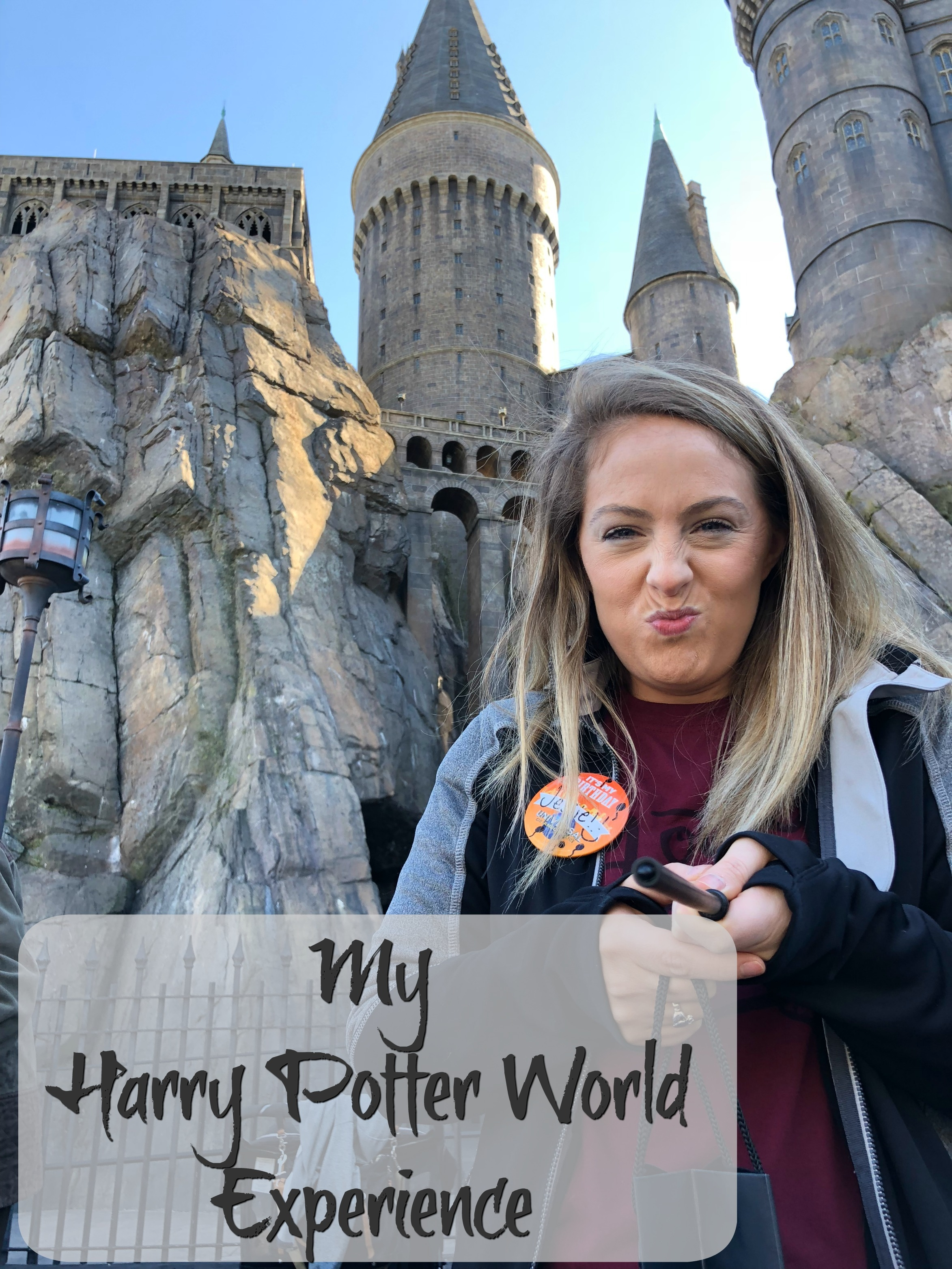 My Harry Potter World Experience