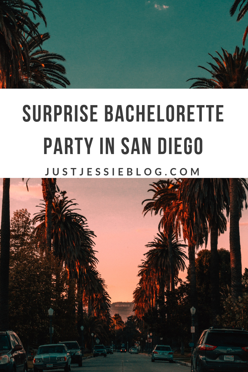 Surprise Bachelorette Party in San Diego