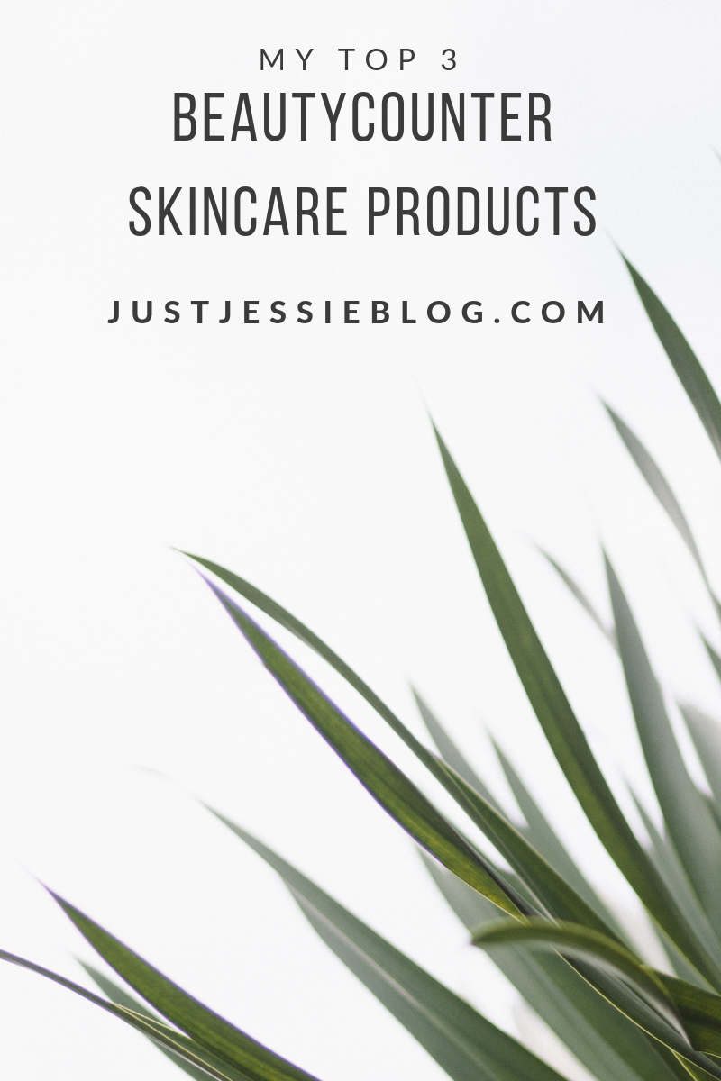 My Top 3 Favorite Beautycounter Skincare Products