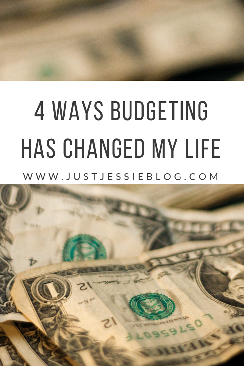 How Budgeting Has Changed My Life